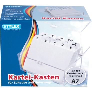 STYLEX® Karteikasten, A7