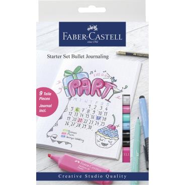 Faber-Castell Bullet Journaling Starter Set, 9-teilig