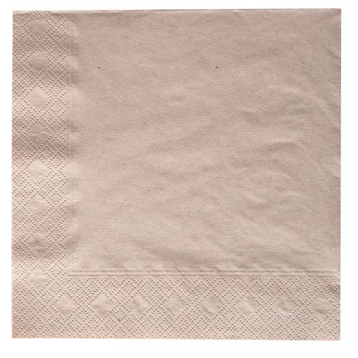 NATURSTAR Servietten, 33 x 33 cm, 1/4 Falz