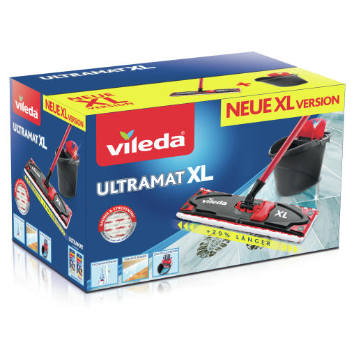 Vileda UltraMat XL Universal Komplettbox, 4-teilig