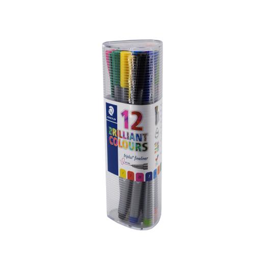 Staedtler triplus® brilliant Colours Fineliner Farbstifte, bunt