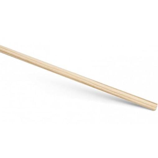 Besenstiel, Holz