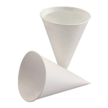 Spitzbecher Aqua 115 ml, weiß