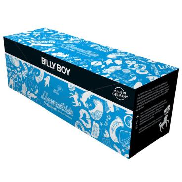 BILLY BOY Lümmelkiste Feucht & Fröhlich Kondome 1 Box = 50 Stück
