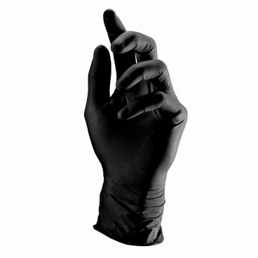 Semperguard® Nitrile Style - Einmalhandschuhe 1 Palette = 63 Kartons, Größe XL, schwarz
