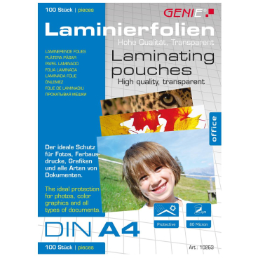 GENIE® Laminiertaschen, Din A4