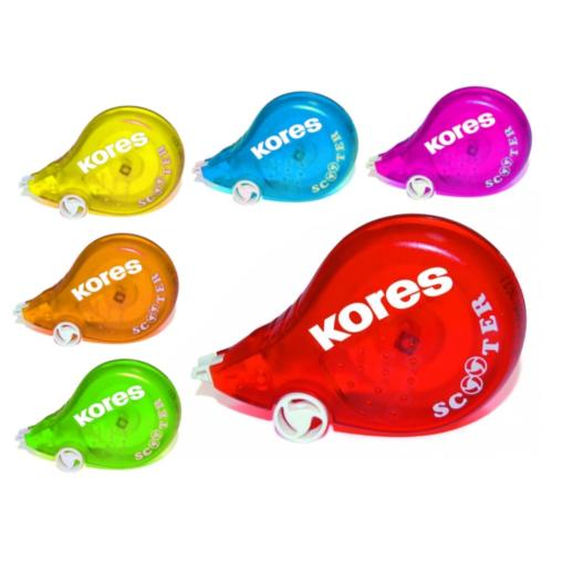 Kores Scooter Colour Einweg-Korrekturroller
