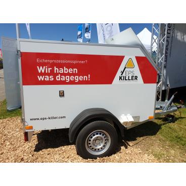 EPS-Killer Anhänger mit Heißwasser-Reinigungsgerät