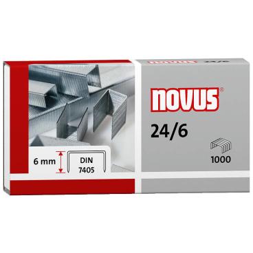 Novus 24/6 DIN Standardheftklammer