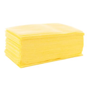 Floorstar Staubbinde-Bodentücher 1 Packung = 100 Stück, 60 x 30 cm, gelb, perforiert