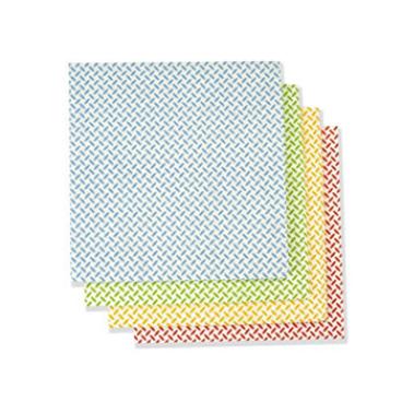 Floorstar Profi-Universal-Wischtücher mit Noppen Farbe: rot