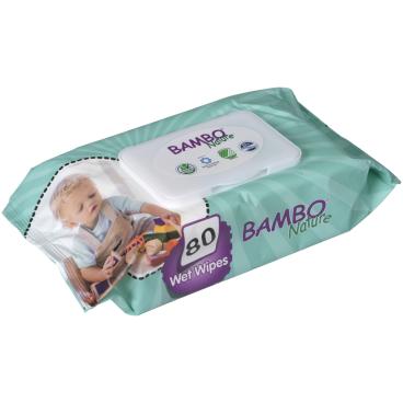 Bambo® Nature Feuchtpflegetücher