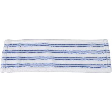 Microfasermopp mit Borsten, blau/ weiß
