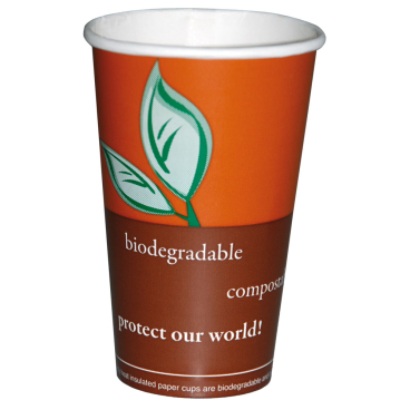 NATURESTAR Coffee 1-wandig Bio Becher