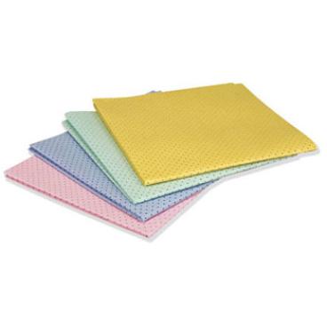 Floorstar Gebäudereiniger-Lochtücher, perforiert Farbe: natur