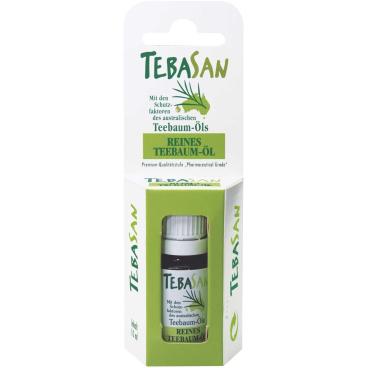 Reines Teebaumöl von TEBASAN 10 ml - Flasche