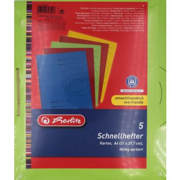 Herlitz Schnellhefter, A4