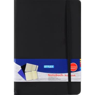 STYLEX® Notizbuch mit PU-Einband