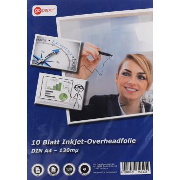 Go Paper Overheadfolie, DIN A4