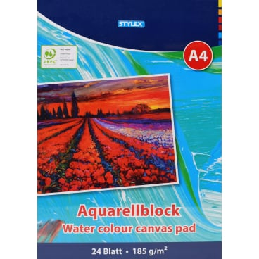 STYLEX® Aquarellblock, A4