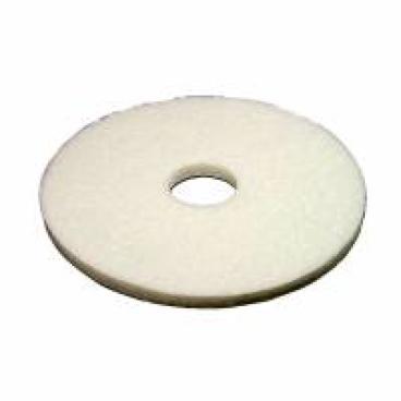 Vileda Professional DynaCross Superpads, Ø 430 mm 1 Packung = 5 Stück, weiß, 20 mm dick