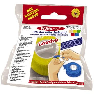 WUNDmed® Wundversorgung Pflaster, selbsthaftend