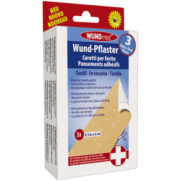 WUNDmed® Wundversorgung Wund-Textilpflaster