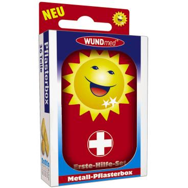 WUNDmed® Wundversorgung Erste-Hilfe-Box, 36-teiliges-Set