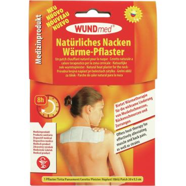 WUNDmed® Natürliches Nacken-Schulter- Wärme-Pflaster