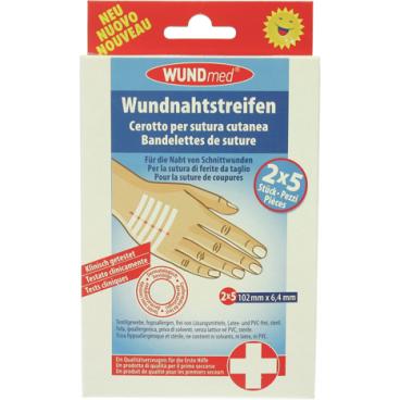 WUNDmed® Wundversorgung Wundnahtstreifen, steril