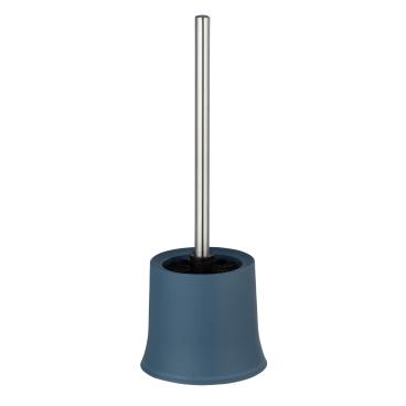 WENKO Basic WC-Garnitur Maße (B/T x H): Ø 14 x 38 cm, blau