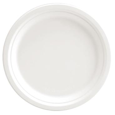 NATURESTAR Single Bio Teller, rund, weiß