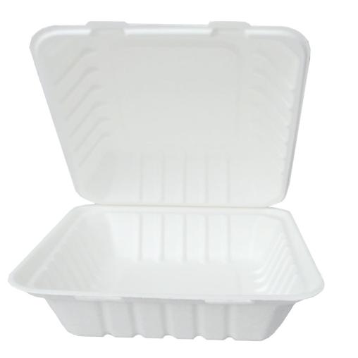 NATURESTAR Hamburger Bio Lunchbox, rechteckig