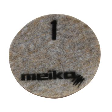 Meiko Diamond Pad, grau