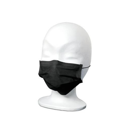 MaiMed® FM Comfort OP-Mundschutz, schwarz, mit Gummizug