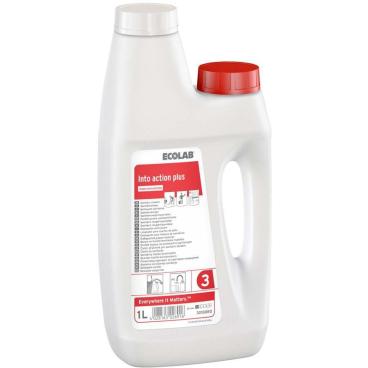 ECOLAB Into® action plus Sanitärreiniger 1000 ml - Dosierflasche (1 Karton = 3 Stück)