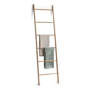 Zeller Bamboo Leiter-Handtuchhalter