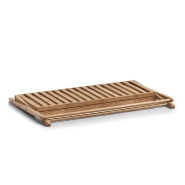 Zeller Bamboo Schuhregal mit 2 Ablagen Maße: ca. 70 x 30 x 32 cm