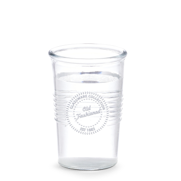 Zeller Old fashioned Trinkglas Maße: ca. Ø 7,5 / 9,5 x 14 cm, 530 ml