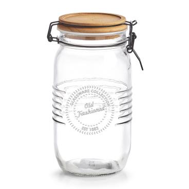 Zeller Vorratsglas, mit Bügelverschluss