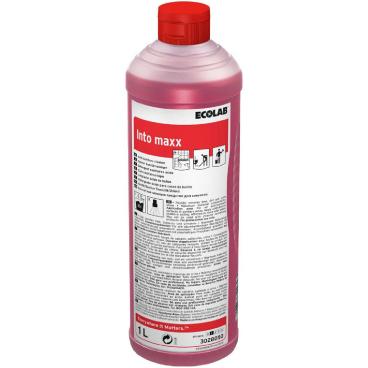ECOLAB Into Maxx Sanitärreiniger 1000 ml - Flasche (1 Karton = 12 Flaschen)
