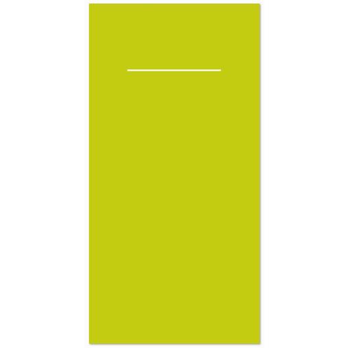 Mank Basic Pocket-Napkins Serviettentasche, kiwi