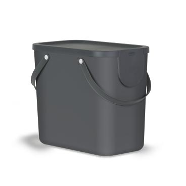Rotho ALBULA Recycling Müllsystem, 25 Liter