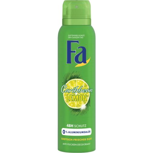 Fa Caribbean Lemon 48h Deodorant Spray