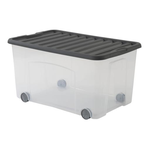 Rotho VENTILO Rollbox, 50 Liter