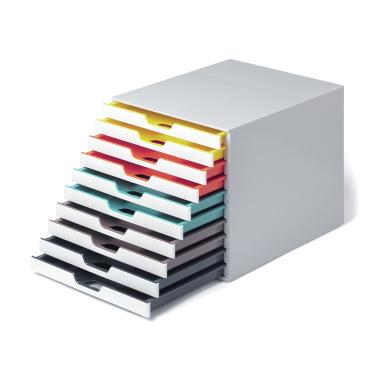 DURABLE VARICOLOR MIX 10 Schubladenbox Maße (B x H x T): 280 x 292 x 356 mm
