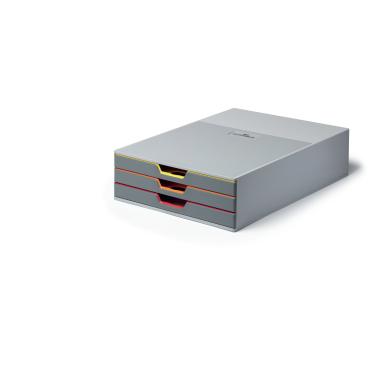 DURABLE VARICOLOR® 3 Schubladenbox Maße (B x H x T): 280 x 95 x 356 mm