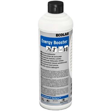 ECOLAB Energy Booster Teppichreiniger 1000 ml - Flasche (1 Karton = 12 Flaschen)