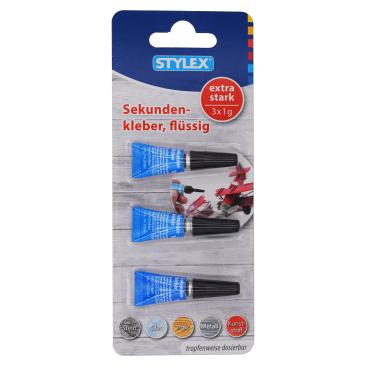 STYLEX® Sekundenkleber, flüssig