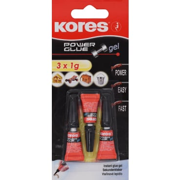 Kores Power Glue Gel Sekundenkleber
